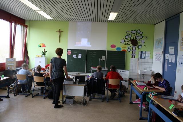 Mittelschule Saal